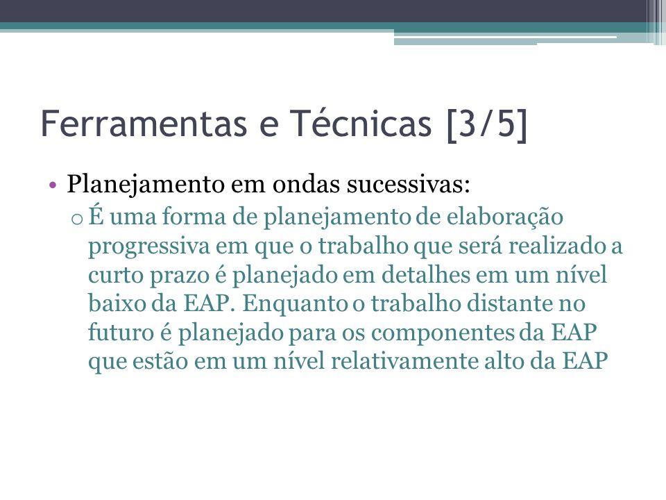 Ferramentas e Técnicas [3/5]